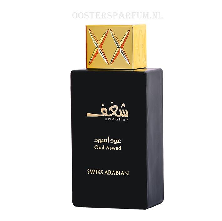 Oudi houtachtig parfum met wierook